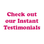 Check out our Latest Testimonials