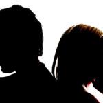 Divorce: couple back to back